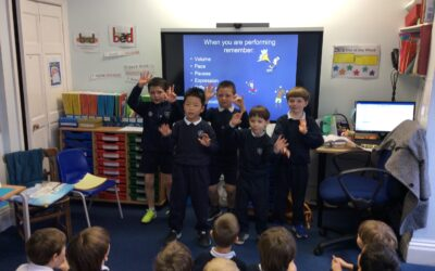 Year 2 Poetry Performance
