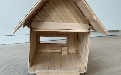 Year 4 Build Model Bird Hides