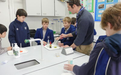 Year 6 Get Back To Practical Science Lessons