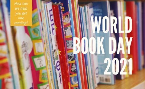 World Book Day 2021: How can we help you get into reading?