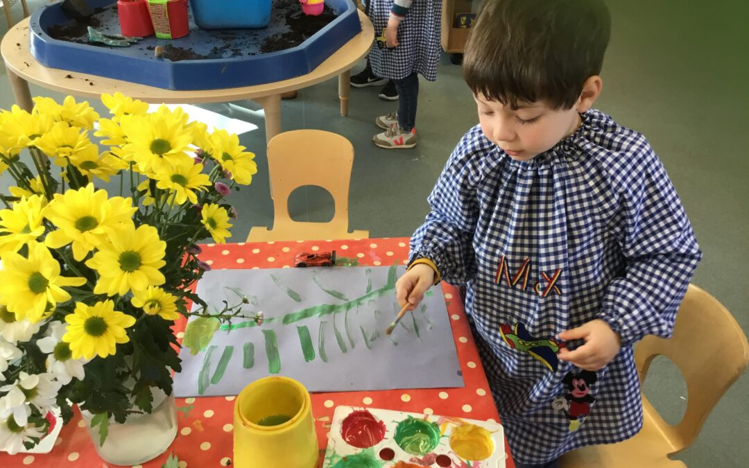 The Caterpillar Class Learn About Planting and Growing