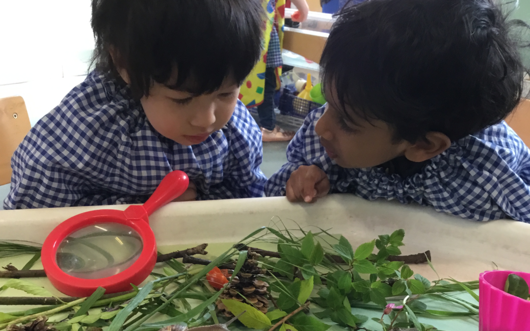 Exciting Little Guests in Caterpillar Class
