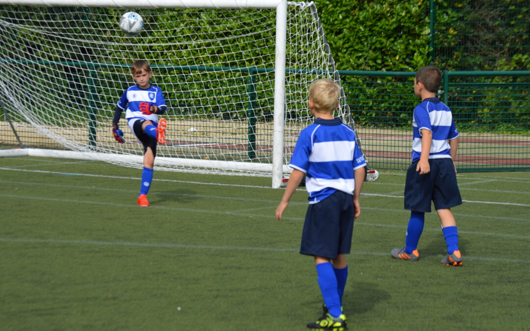 Year 3 compete in their first fixture!