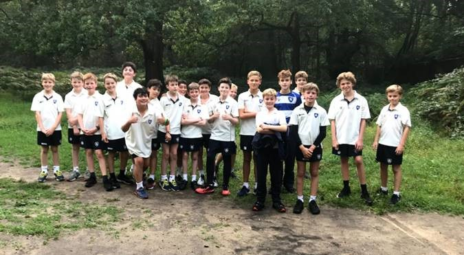 Cross Country club complete time-trial