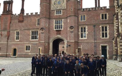 Year 7 History trip to Hampton Court Palace